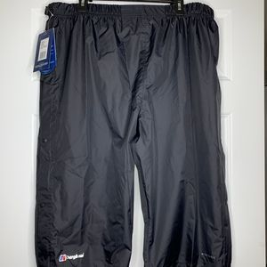 New Berghaus Deluge Pants Waterproof Black 3XL